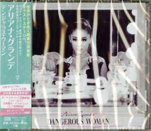 Ariana Grande-Dangerous Woman-Japan CD Bonus Track F56