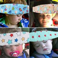 Kids Baby Car Seat Safety Stroller Sleep Nap Aid Head Fasten Support Holder Belt