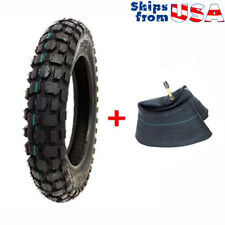 COMBO: Knobby Tire with Inner Tube 3.00 - 12 Front or Rear Trail Dirt Bike