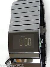 Rado Ceramica XL Schwarz Automatik Digital mit Glasboden R21925152 NEU + OVP