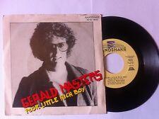+ 45 RPM Gerald Master Poor Little Rich Boy/is it Me? Vintage New