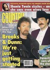 Brooks & Dunn Cover Country Weekly Magazine March 1996 Shania Twain