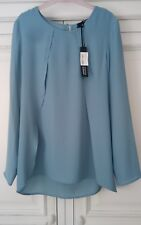 Woman's Steffen Schraut overlay detail blouse size 36 or 10 UK. New with tags.