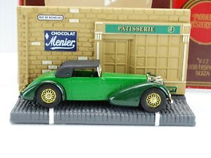 Matchbox Models of Yesteryear 1938 Hispano Suiza w/Diorama Y-17 Scale 48:1 (CC21