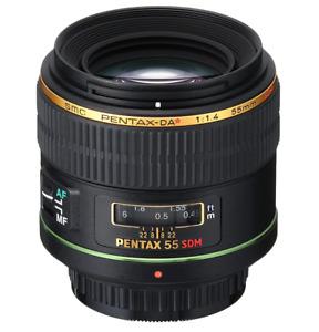 [NEAR MINT] PENTAX SMC DA 55mm f/1.4 SDM Lens from JAPAN (N661)