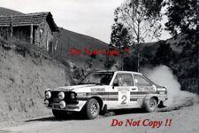 El Señor Vatanen nos Ford Escort RS1800 Ganador Rallye do Brasil 1981 fotografía 1