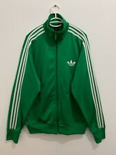 Adidas Originals ADI-Firebird Track Top Jacket Green White Size L 605123
