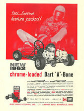 Vintage & Rare 1962 Rupp Dart Kart A-Bone Go-Kart Ad