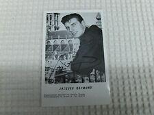Vintage CPA :   carte postale  JACQUES  RAYMOND