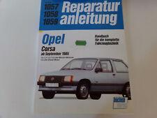 Reparaturanleitung Opel Corsa A ab September 1985 Benzin & Diesel  Bucheli