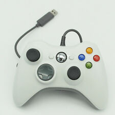Wired USB PC XBox 360 Game Joystick Handle Game pad Controller Black/White
