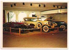 Continental Postcard '32 Stutz, '32 Lincoln, '37 Mercedes Silver Springs Florida