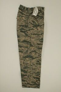 U.S. AIR FORCE WOMANS ABU DIGITAL CAMO RIP-STOP BDU PANT DATED 2014 SIZE 10S