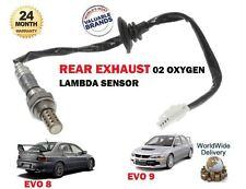 FOR MITSUBISHI EVO 8 9 VIII IX 2.0i 2003-> REAR EXHAUST 02 OXYGEN LAMBDA SENSOR