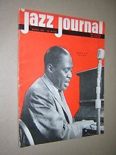 JAZZ JOURNAL. MARCH 1961. MEMPHIS SLIM ON FRONT COVER