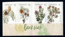 2018 Banksias - Bottom Strip of 4 Booklet Stamps