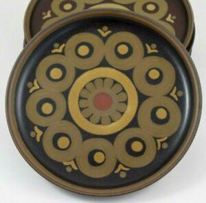 """Vintage DENBY ARABESQUE 8 1/4"""" (21 cm) Side Plate"""