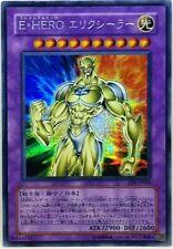 Yu Gi Oh Fusion Japanese Elemental Hero Electrum PP9-JP001 Secret Rare