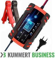 Intelligentes Batterieladegerät 12/24V 150Ah Batterieerhaltungsgerät KFZ Auto 2h