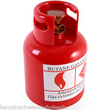 Novelty RED Gas Cylinder Bottle Box Money Coin Gift