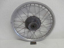 1978 Yamaha Dt250 dt 250 Genuine Front Wheel Rim Hub Spoke Set 1e6-25111-00-98
