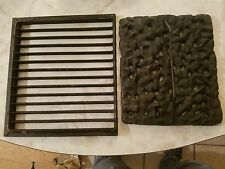 "12"" inch X 12"" inch Cast Iron Grate Ornamental"