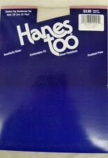 Hanes Too Reinforced Toe Control top Pantyhose  Style 136 Pearl and Gentle Brown