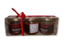 Gourmet Living Italian Truffle Sampler | Three Jars of Summer Truffle