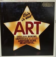 """THE SOUP DRAGONS - THIS IS OUR ART 12"""" LP PROMO USA 1988 GOOD CONDITION"""