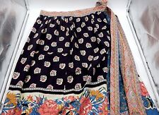 BEAUTIFUL SUTTLES AND SEAWINDS LIMITED FLORAL LONG SKIRT