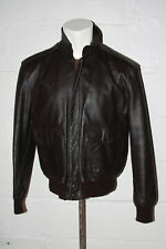 EUC Excelled Type A-2 Jacket Flyer Leather Bomber U.S Army Air Force Jacket Sz S