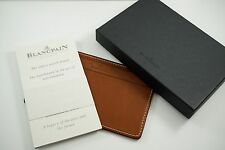 BLANCPAIN LEATHER NOTE PAD, WALLET OR BILLFOLD, MINT . DATES FROM 2000's