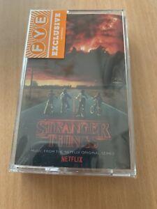 Stranger Things  - New And Sealed Cassette - Netflix Original Series