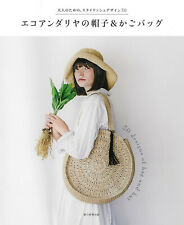 30 Stylish Designs Bags and Hats of Eco Andaria - japanese craft book