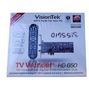 VisionTek ATI TV Wonder HD 650 HDTV Tuner NEW FREE SHIPPING! T8