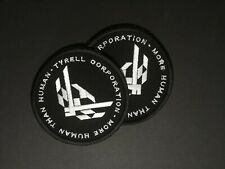 Blade Runner movie embroidered patch! Tyrell Corporation, Size (d): 9,5 cm