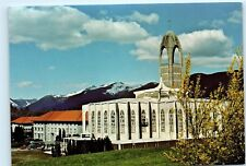 Mission British Columbia Canada Abbey Church Westminster Abbey 4x6 Postcard A43