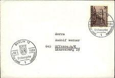 1964 DT. POST Berlino prima edizione 700 anni bella montagna 20 PF. con timbro speciale