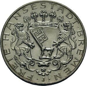 German Empire, Bremen, 2 Mark 1904 J