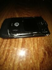 Retro Motorola Razr V3 Black Phone for Parts or not Working. Powers On!