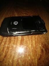 Retro Motorola RAZR V3 Black Phone for Parts or not Working. Powers On!