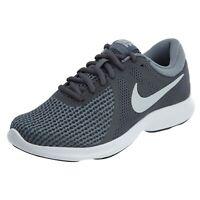 Nike Women's Revolution 4 Running Shoes 908999 010 Dark Grey/Pure Platinum