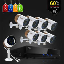ELEC 8CH 1080N 960H 1500TVL DVR Outdoor Night Vision Home Security Camera System