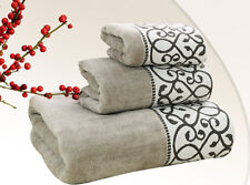 LUXURY TOWEL SET 100% PURE EGYPTIAN COTTON FACE, HAND, BATH TOWELS