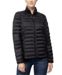 MSRP $100 32 Degrees Packable Down Puffer Coat Black Size Small