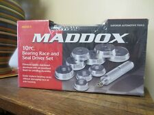 New! Maddox 10pc Bearing Race and Seal Driver Set  MD10-1