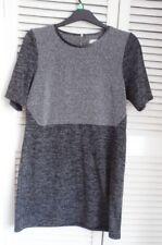 OASIS Black and Grey Tunic/Mini Dress - Size L.