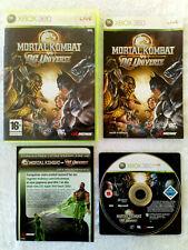 Mortal Kombat vs DC Universe XBOX 360 / PAL . FR