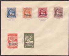 Italy - 1918 - Austrian Occupation Issues On Cover - #NE1 - NE2 & #NJ1 - #NJ4