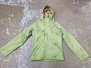 Ride Snowboards Women's Extra Small XS Oliver Green Winter Snowboarding Jacket